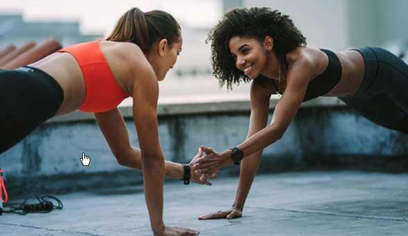 Manhattan Plaza Health Club Summer Sundeck workouts