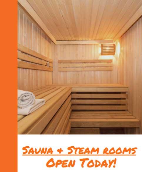 Steam and Sauna Rooms at Manhattan Plaza Health Club