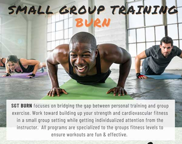 Small Group Training Burn at Manhattan Plaza Health Club