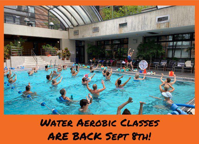 Water Aerobic Classes at Manhattan Plaza Health Club